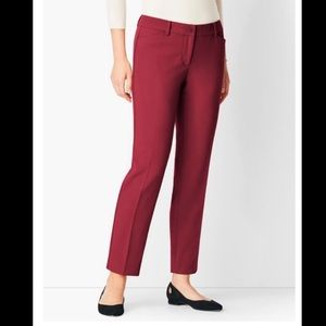 💜 3 for 30$ Talbots red hampshire straight leg